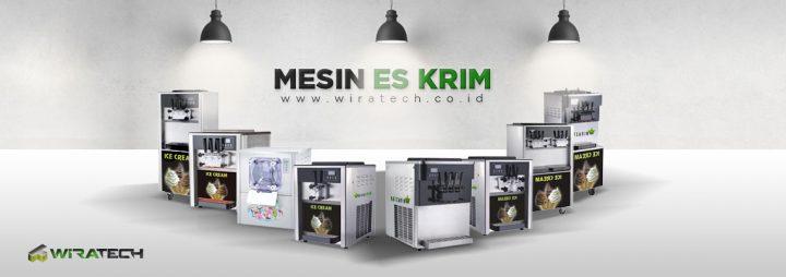 banner Mesin Es Krim New